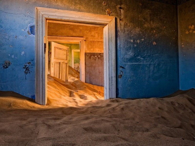 Kolmanskop, Namíb-sivatag