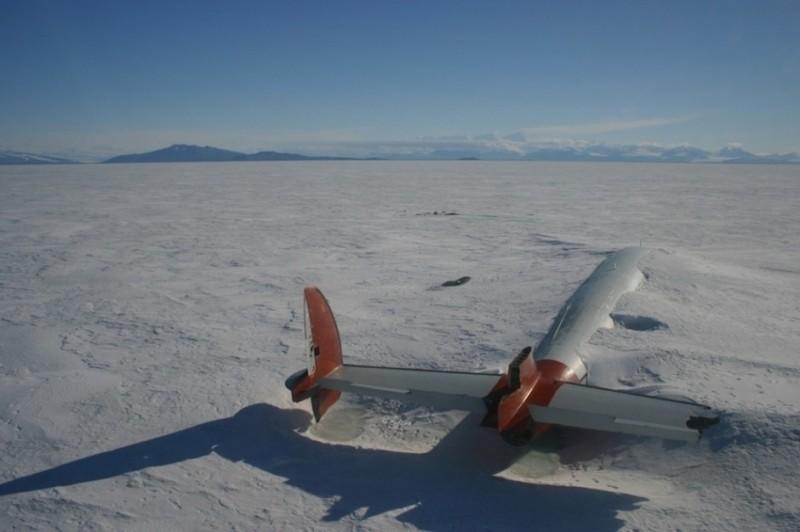 A Pegasus maradványai, McMurdo Sound, Antarktika
