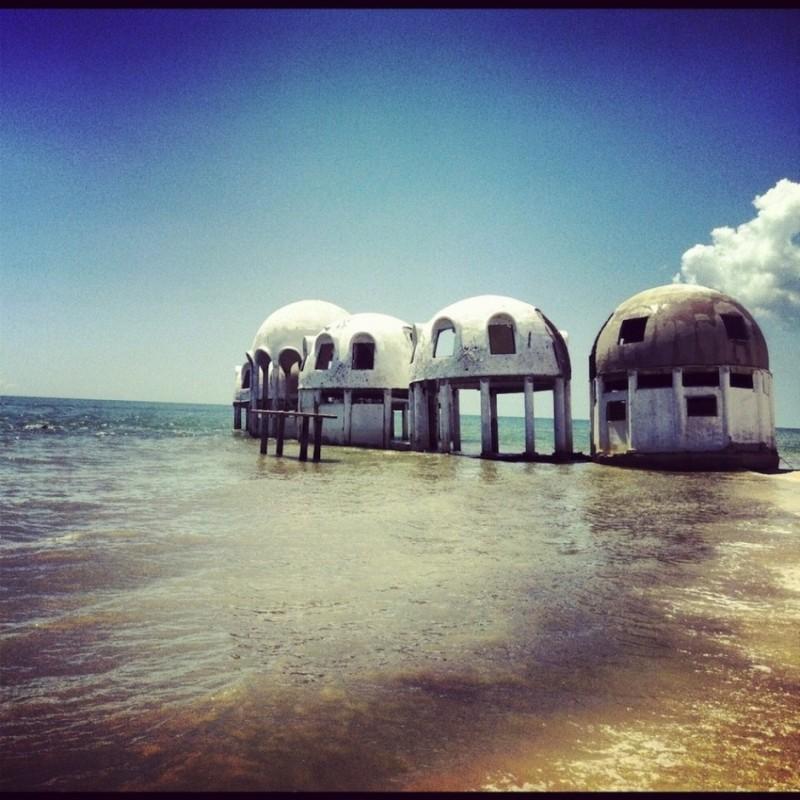Kupolásházak Flordia dél-nyugati részén