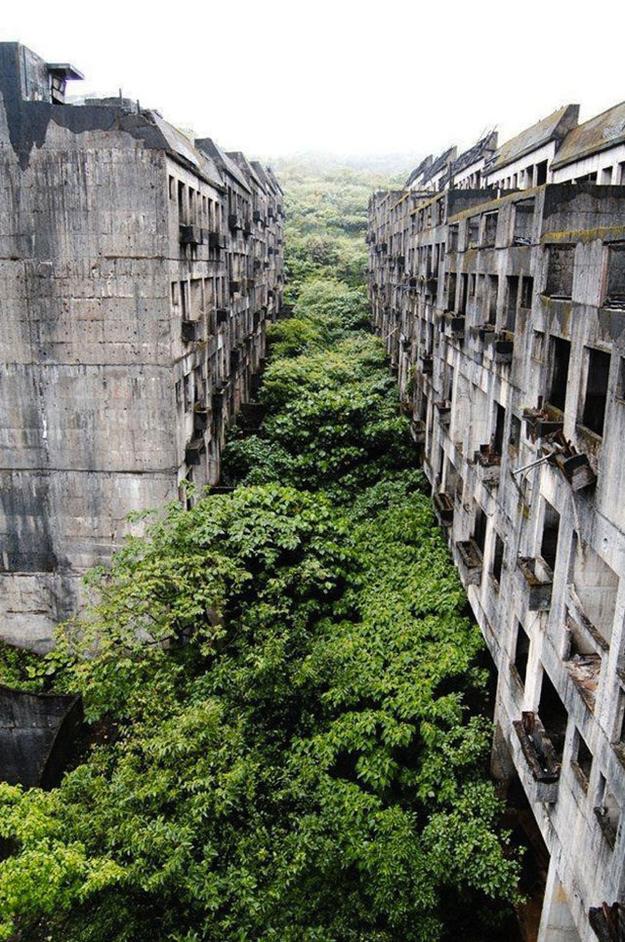 A tajvani Keelung elhagyatott városa