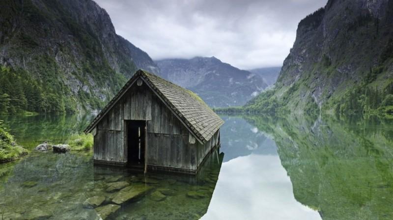 Halászkunyhó, Norvégia