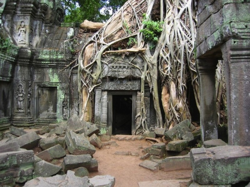 Angkor Wat templom, Kambodzsa