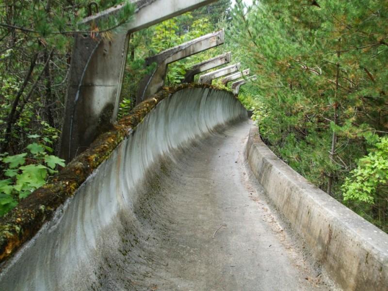 1984-ben Szarajevóban rendezték a téli olimpiát. Ez volt a bobpálya.